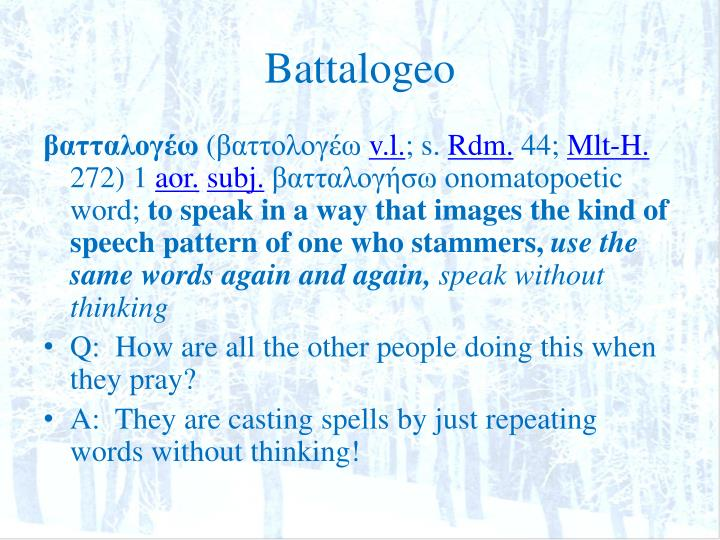 Battalogeo