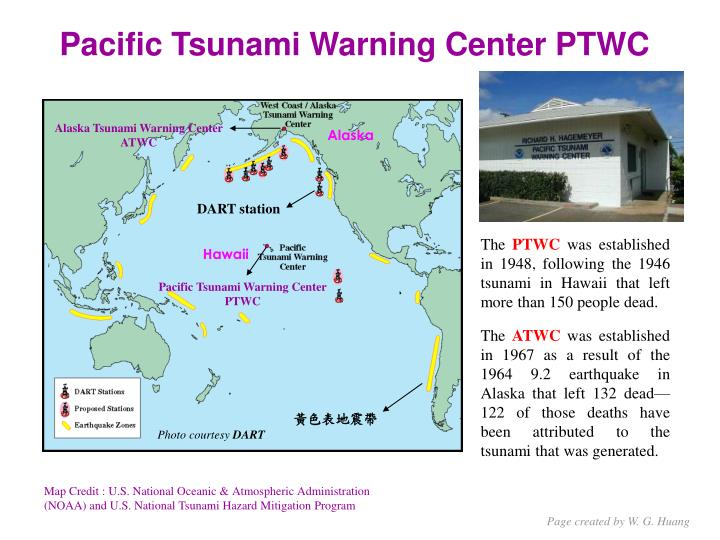 Pacific Tsunami Warning Center PTWC
