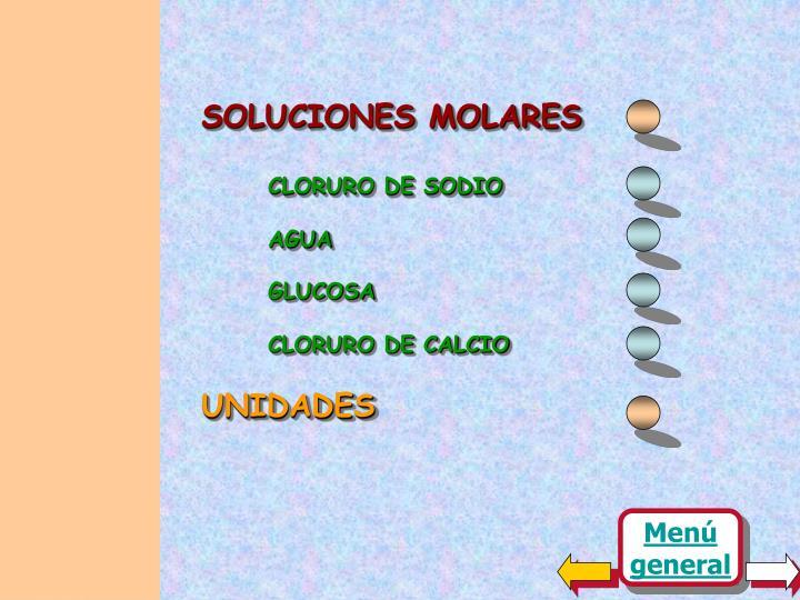 SOLUCIONES MOLARES