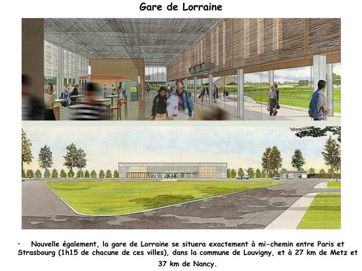 Gare de Lorraine