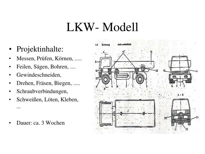 LKW- Modell