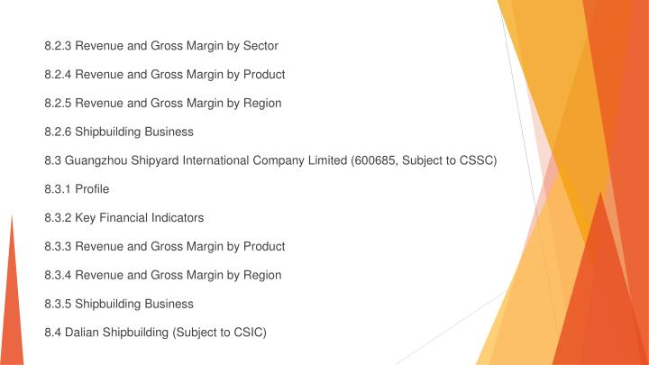 8.2.3 Revenue and Gross Margin by Sector