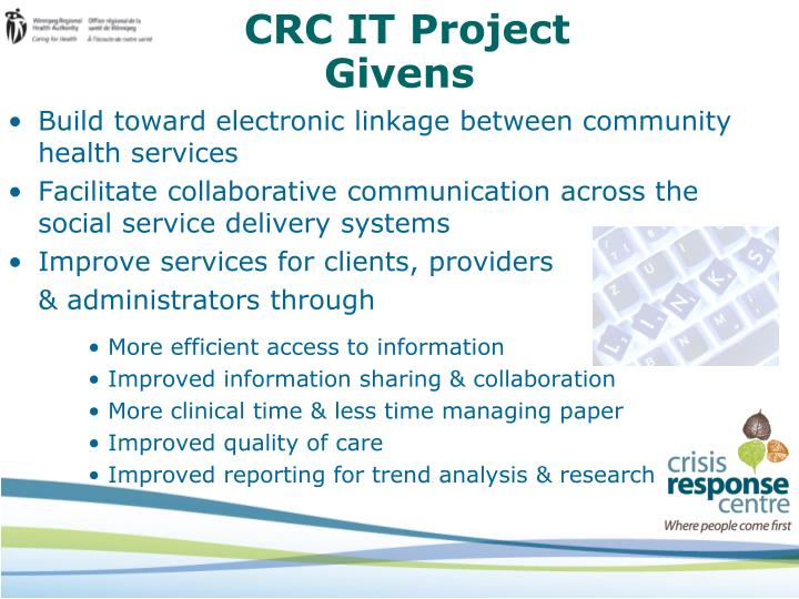 CRC IT Project
