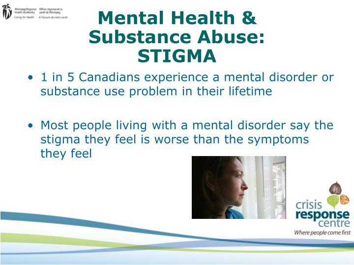 Mental Health &