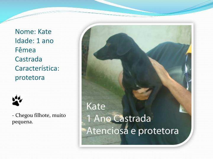 Nome: Kate