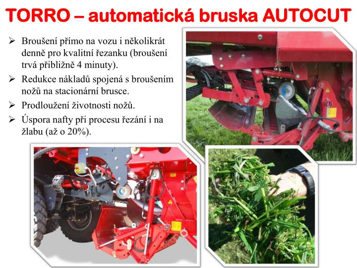 TORRO – automatická bruska AUTOCUT