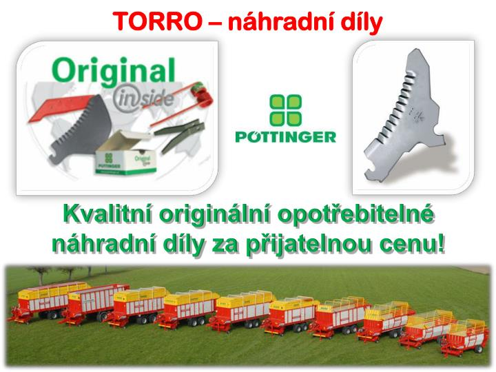TORRO – náhradní díly