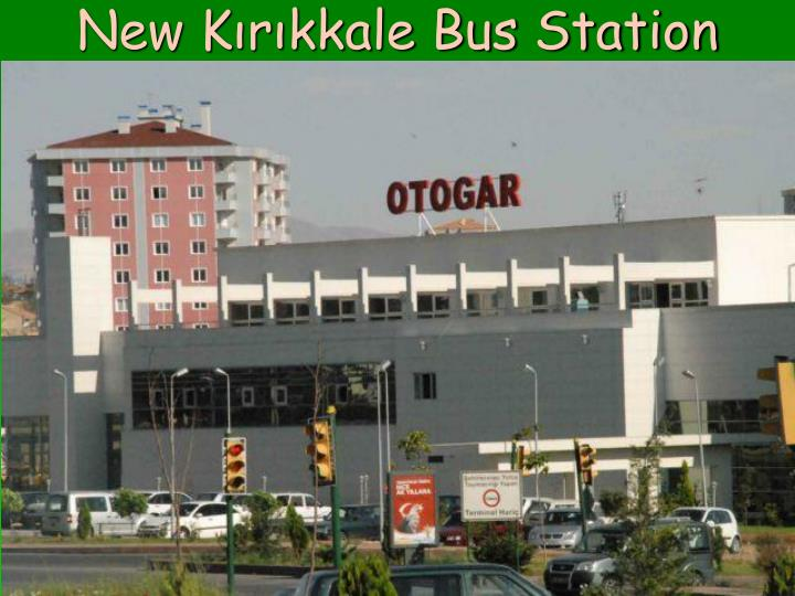 New Kırıkkale Bus Station
