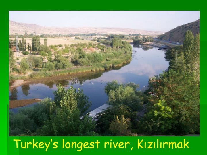 Turkey's longest river, Kızılırmak
