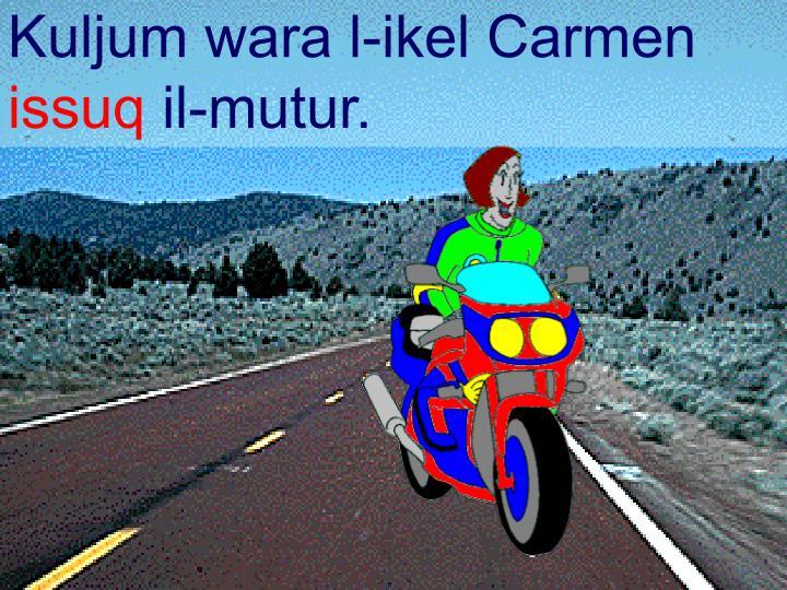 Kuljum wara l-ikel Carmen