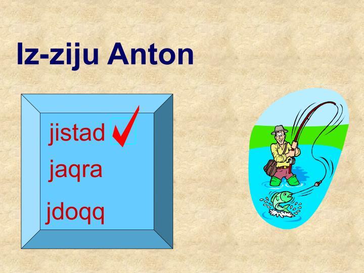 Iz-ziju Anton