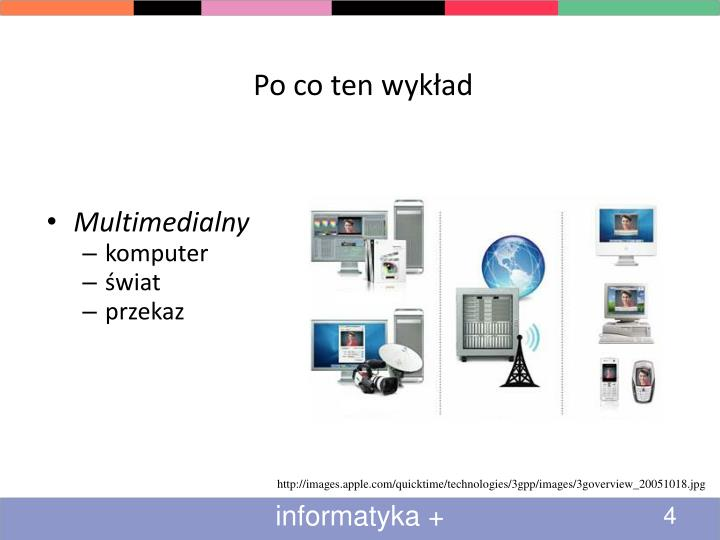 Po co ten wykład