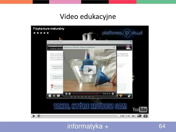 Video edukacyjne