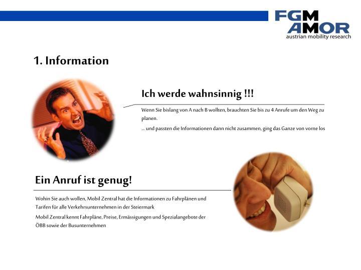 1. Information