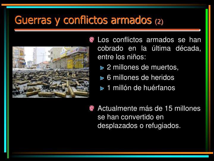 Guerras y conflictos armados