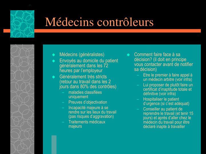 Médecins (généralistes)
