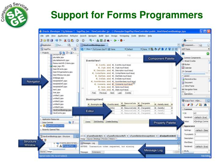 Support for Forms