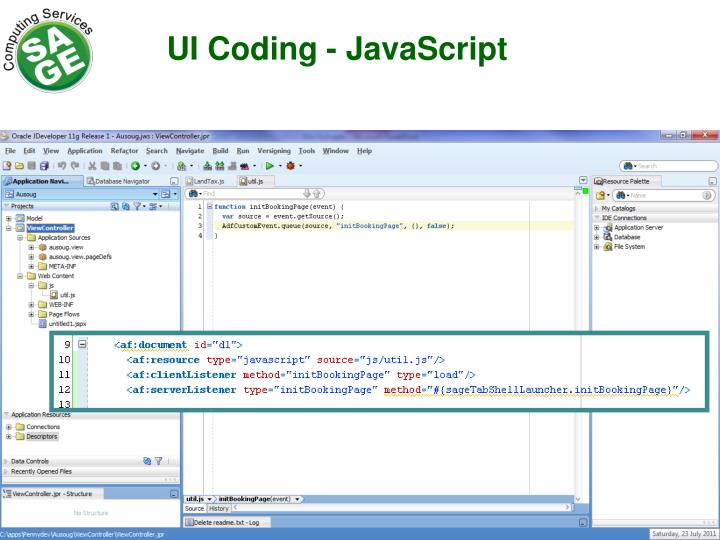 UI Coding
