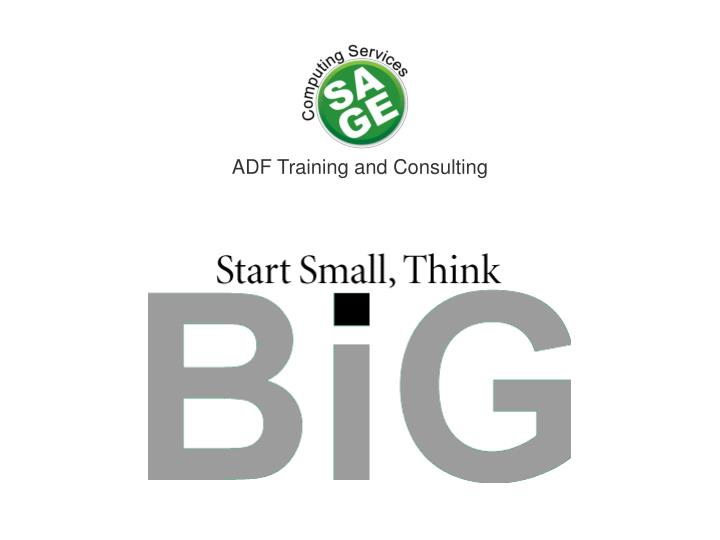 ADF Training and