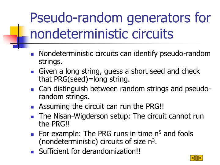 Pseudo-random generators for nondeterministic circuits