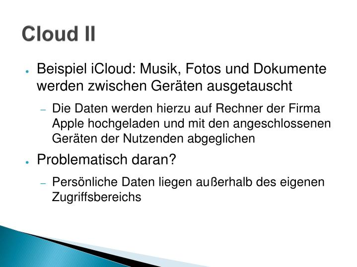 Cloud II