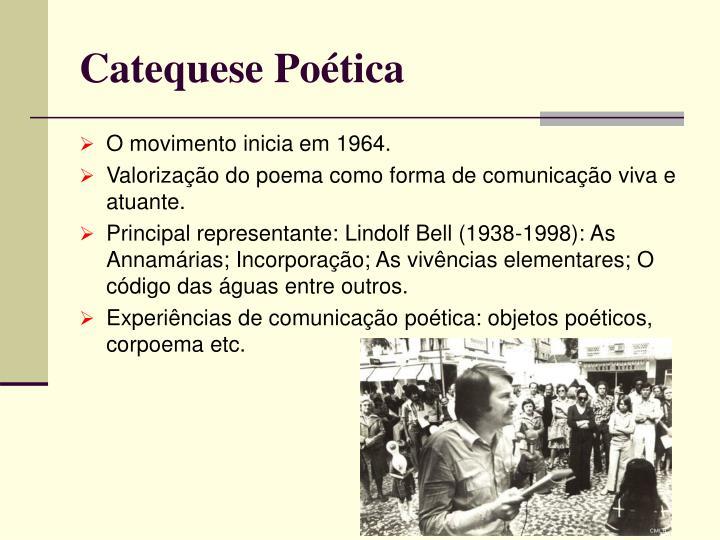 Catequese Poética
