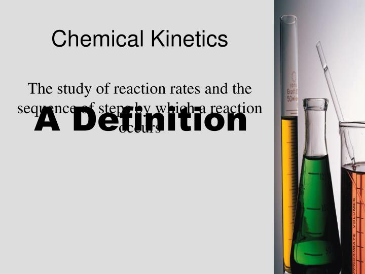Chemical kinetics1