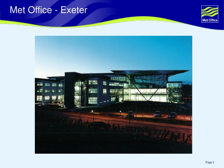 Met Office - Exeter