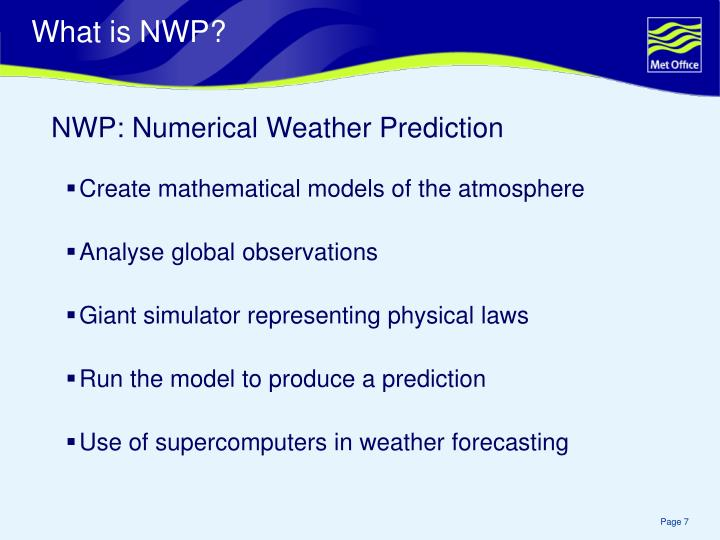 What is NWP?