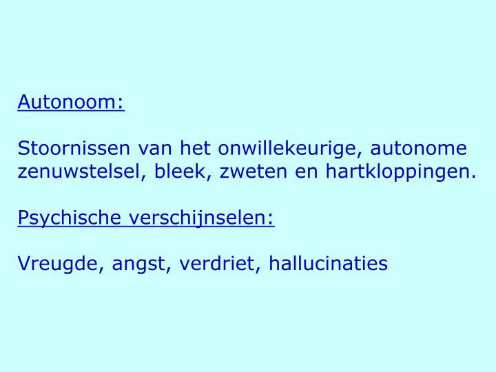 Autonoom: