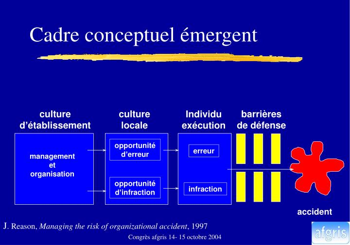 Cadre conceptuel émergent