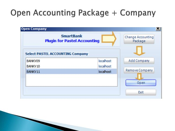 Open Accounting Package + Company