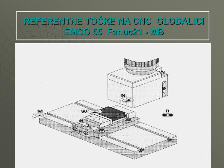REFERENTNE TOČKE NA CNC  GLODALICI