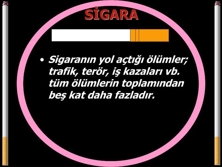 SİGARA