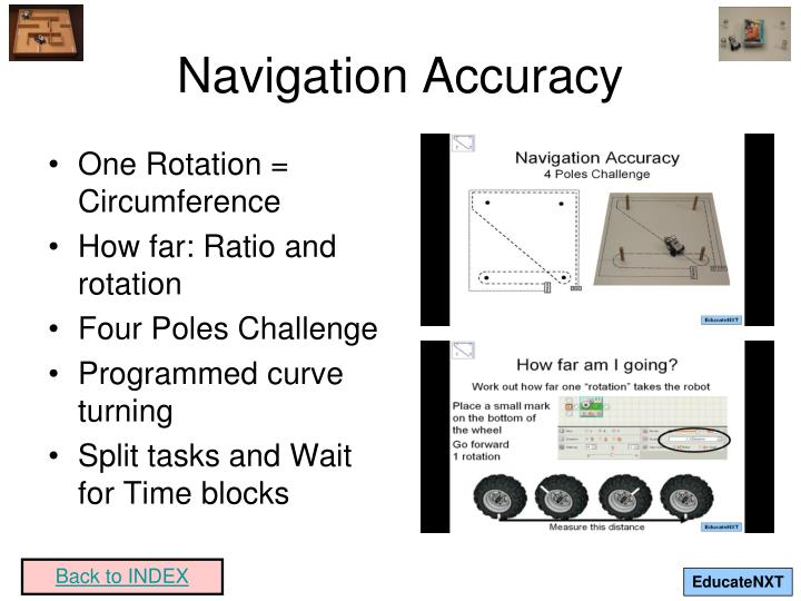 Navigation Accuracy