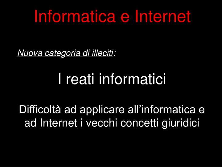 Informatica e Internet