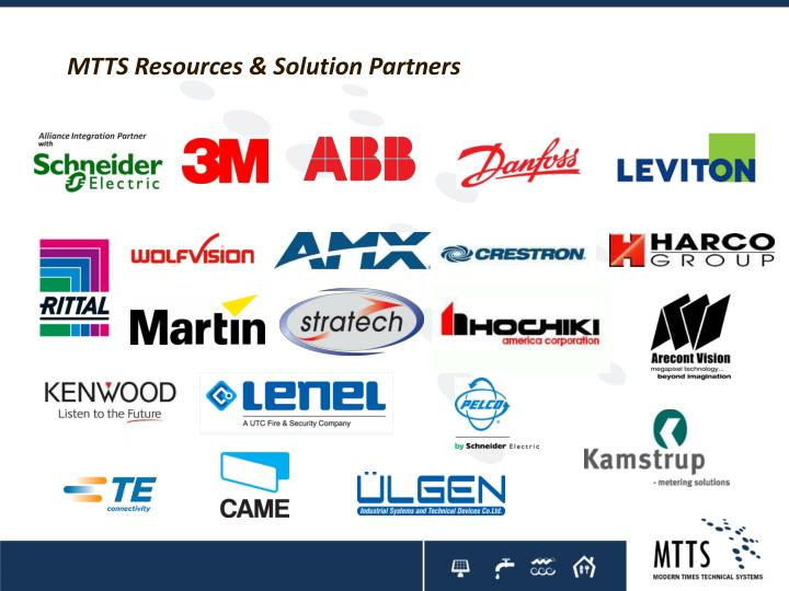 MTTS Resources & Solution Partners