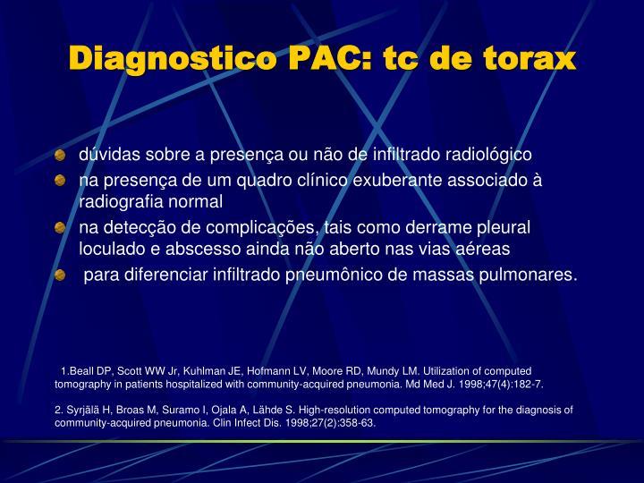 Diagnostico PAC: