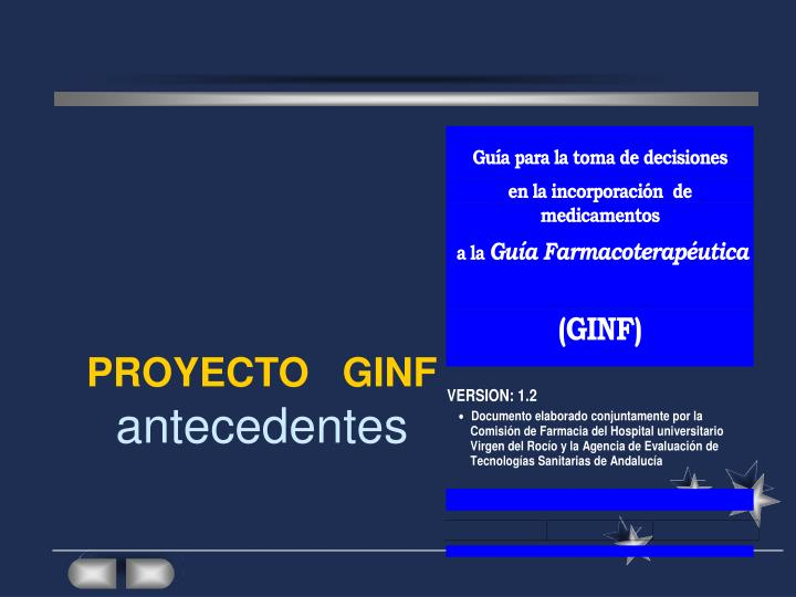 PROYECTO   GINF