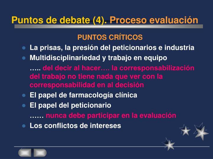 Puntos de debate (4).