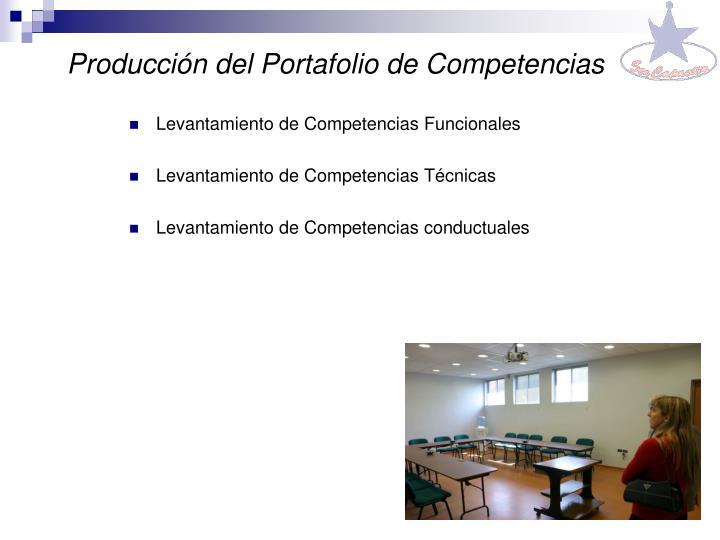 Producción del Portafolio de Competencias