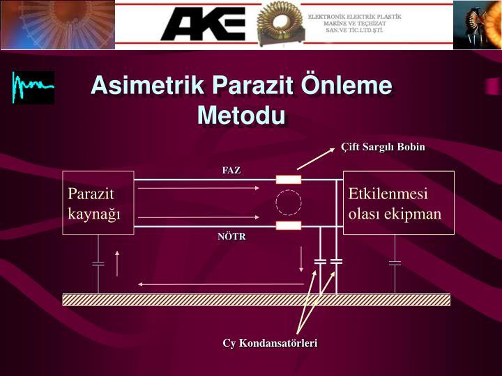 Asimetrik Parazit Önleme