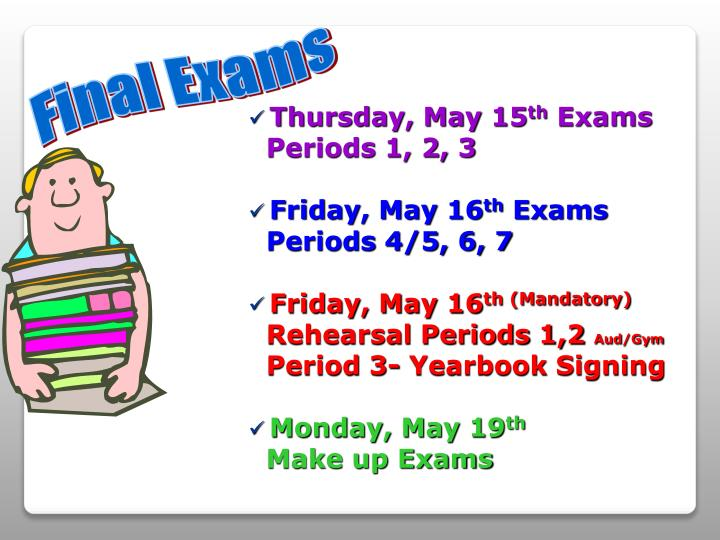 Thursday, May 15
