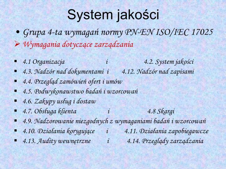 System jakości