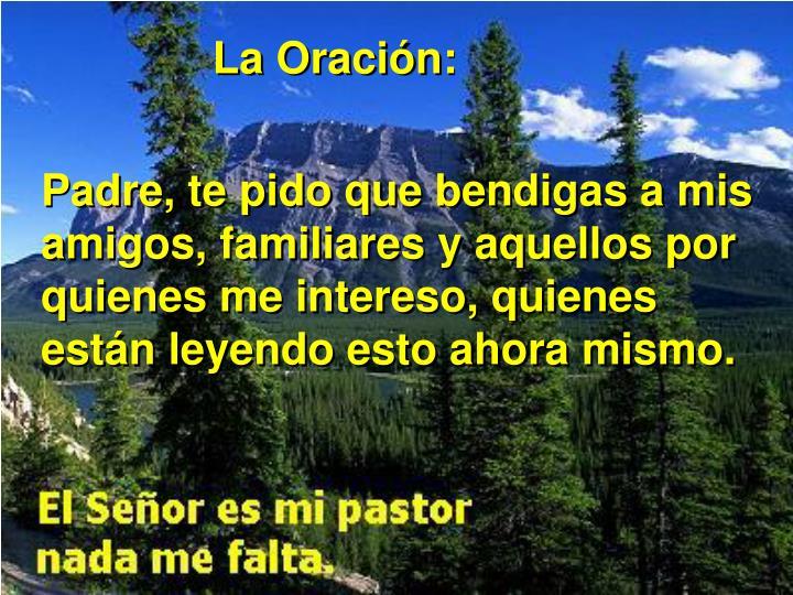 La Oración: