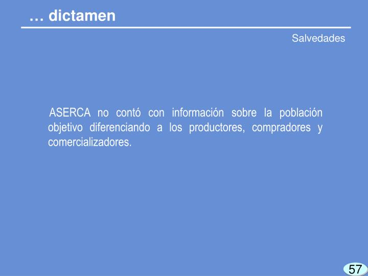 … dictamen