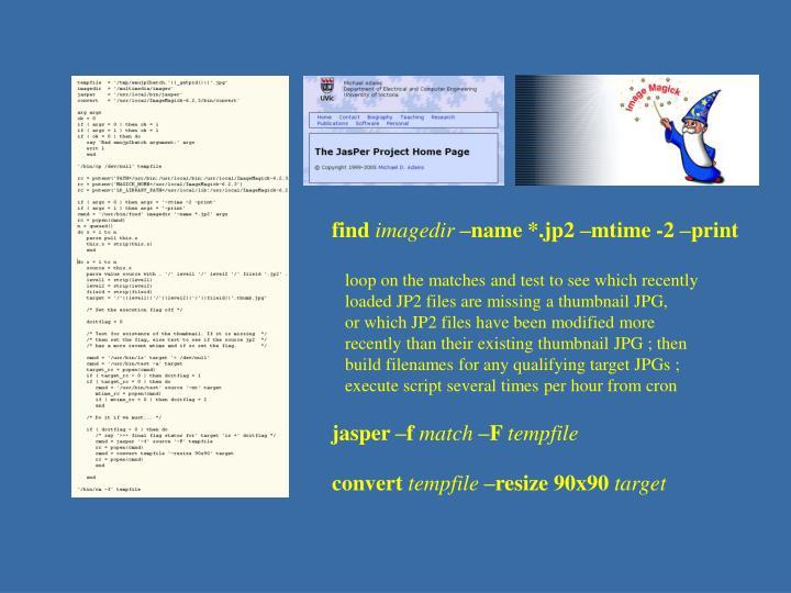 JP2 - coding