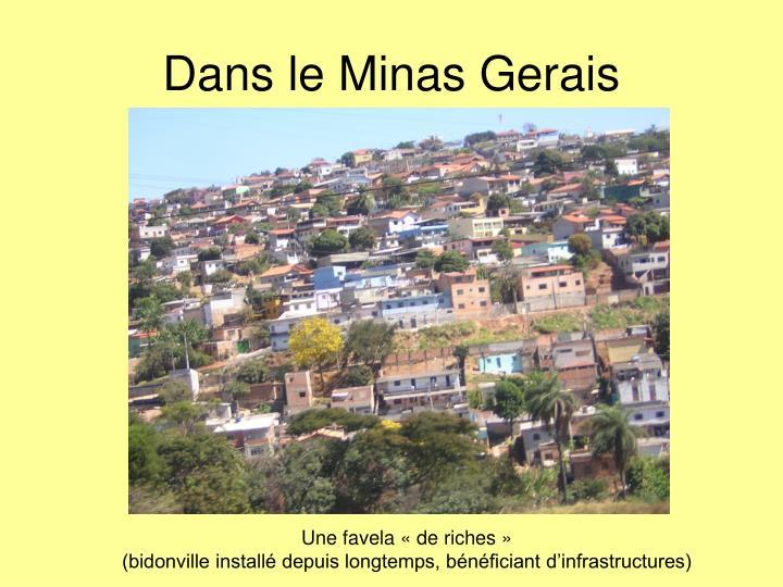 Dans le Minas Gerais