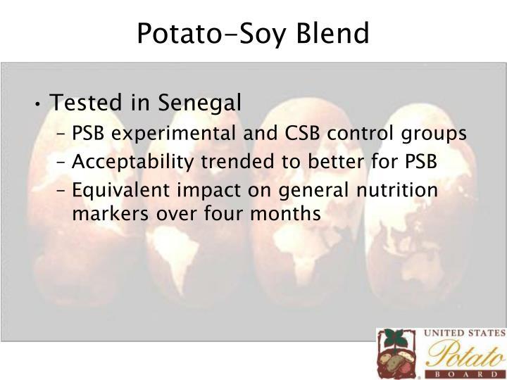 Potato-Soy Blend