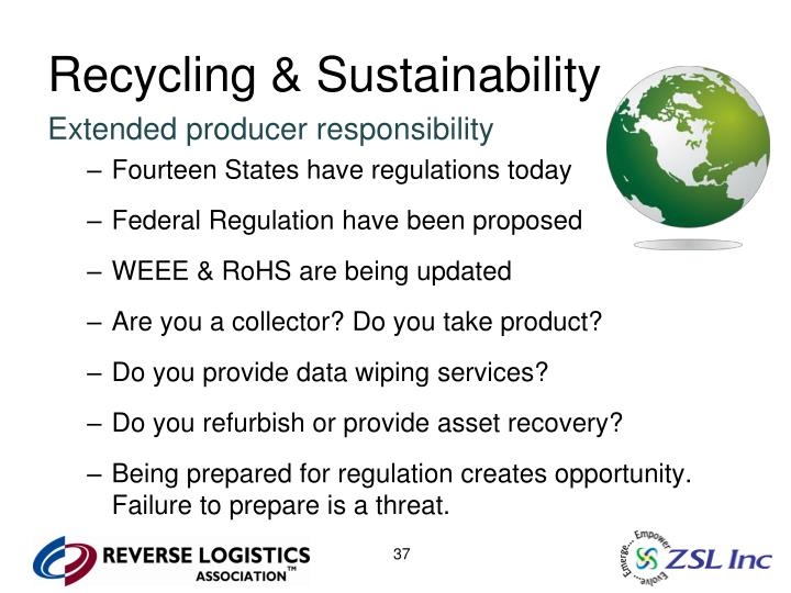 Recycling & Sustainability